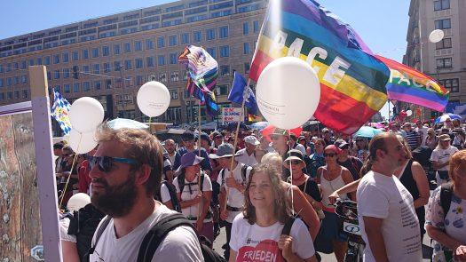 Demo 1.8.2020, Berlin