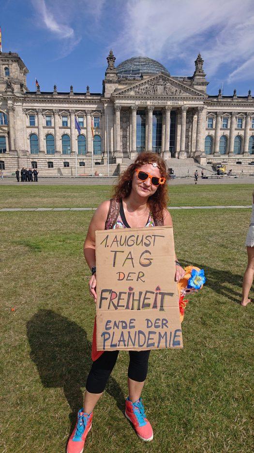 Demo,1.8.2020 Berlin