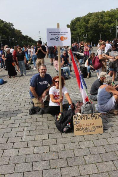 Brandenburger Tor, 30.08.2020 Berlin