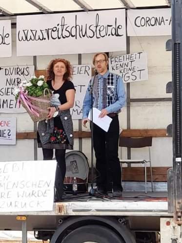 friedlichste Demo in Deutschland - 24.04.2021