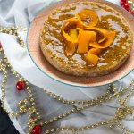 Vegan orange and almond pudding / Pudding all'arancia e mandorle vegan