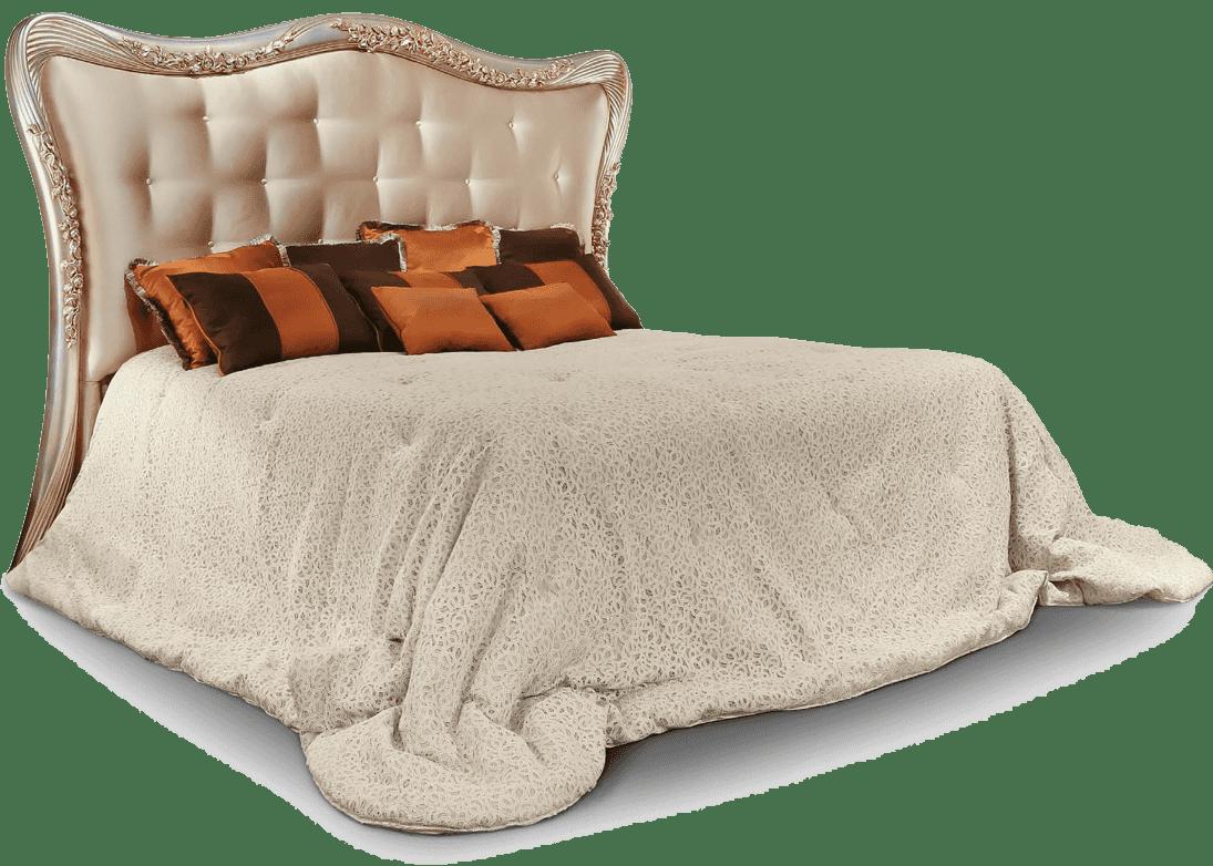 Letto per camera da letto elegante