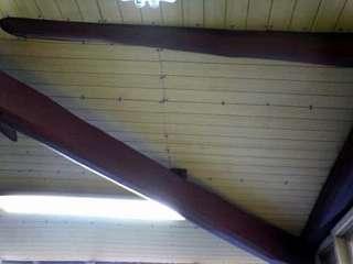 天井がはれましたよ。