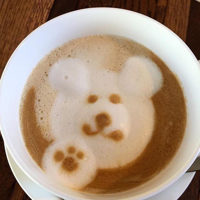 cafe treeのクマちゃん