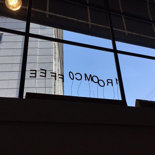 今日のバイトが早く終わっちゃたので、久しぶりにこちらに立ち寄りました。#1roomcoffee