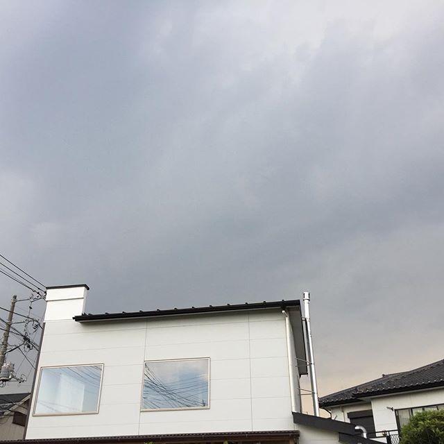 雷雲到来#masasfactory