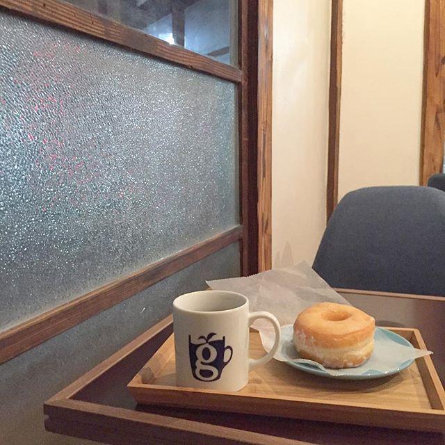 新しくて古いglin coffee 大工町店。凄く心地いい2階で。#glincoffee