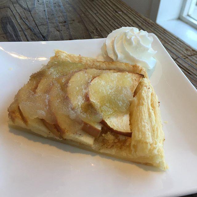 オープンアップルパイを焼いてみた。50点。#masasfactory