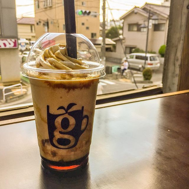 秋の新作、小豆パーズン。glin coffee大工町店#glincoffee