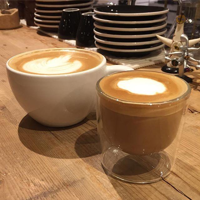 cafe latte とcortado#masasfactory