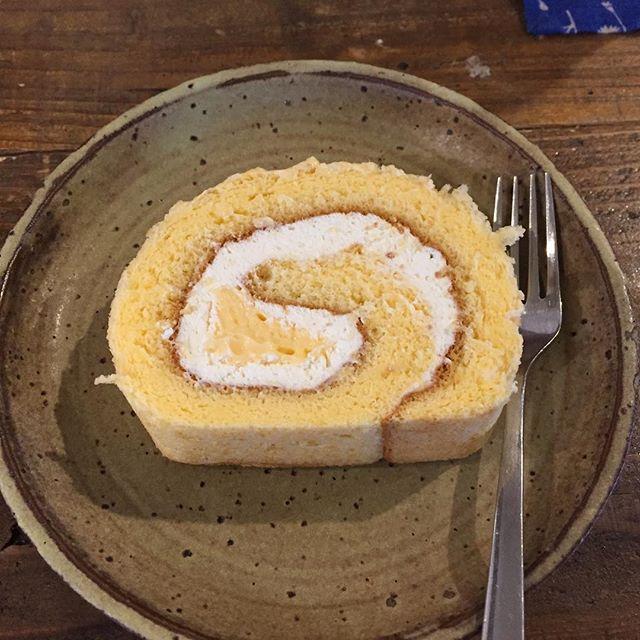 ルアンジュさんのロールケーキ、絶妙に美味い!