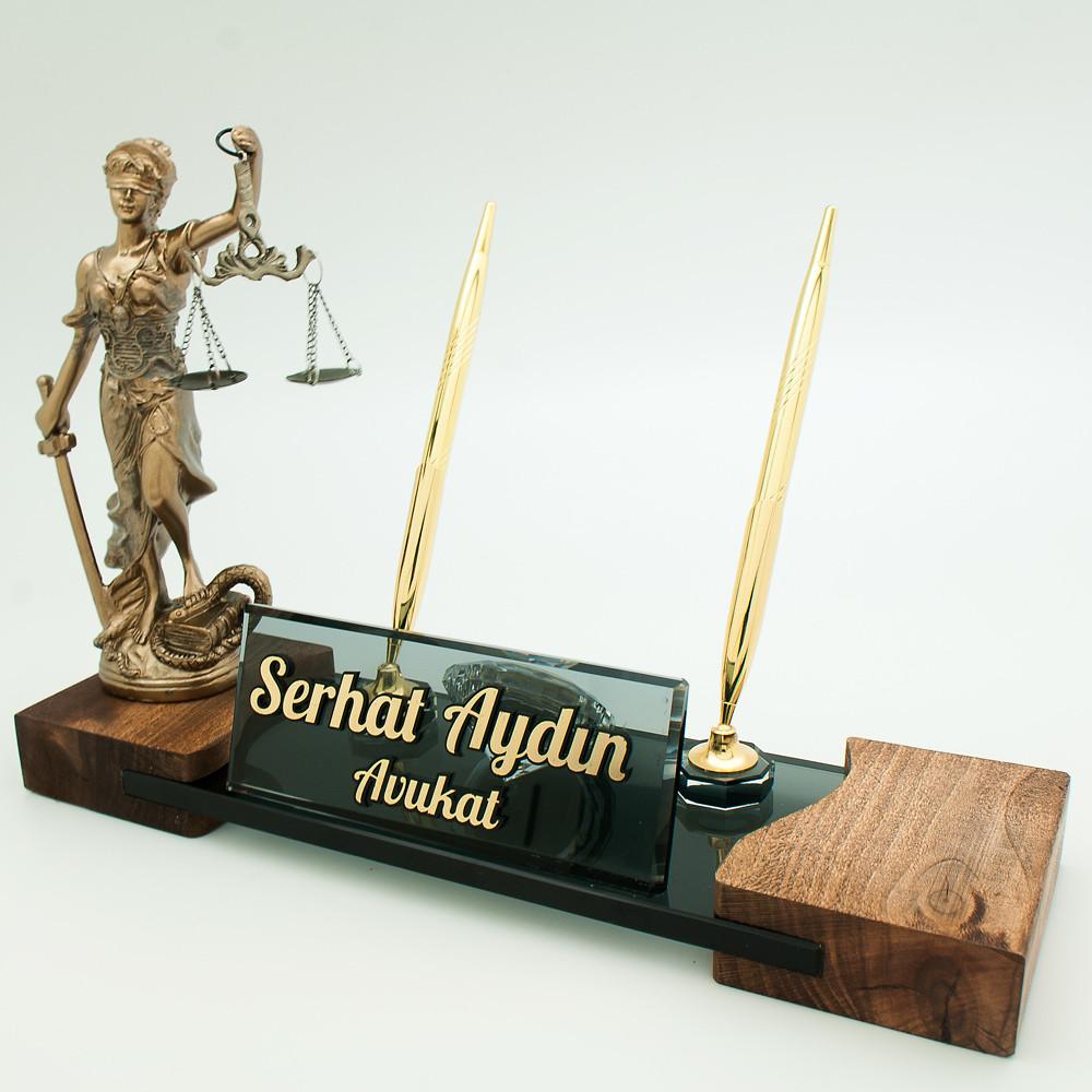 Hakim ve Savcı Masa İsimlik