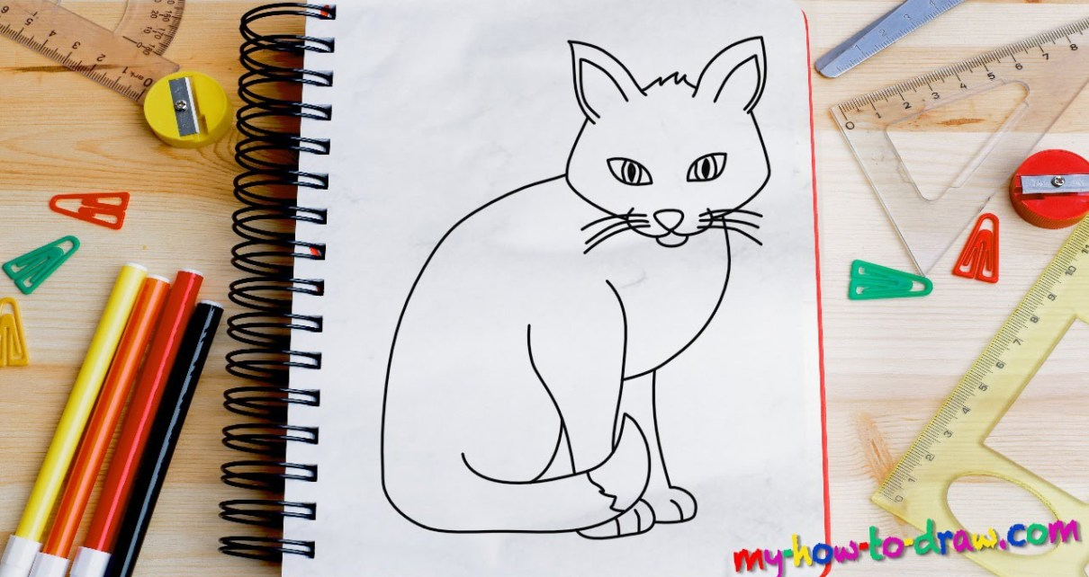 How to draw a cat?