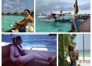 Nia sharma maldives holiday