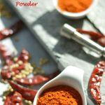 Homemade Red Chilli Powder