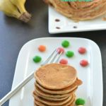 Banana Whole Wheat Sweet Dosa