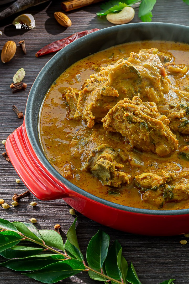 Piping hot South Indian Chicken Korma