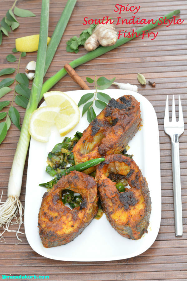 Spicy South Indian Style Fish Fry V1