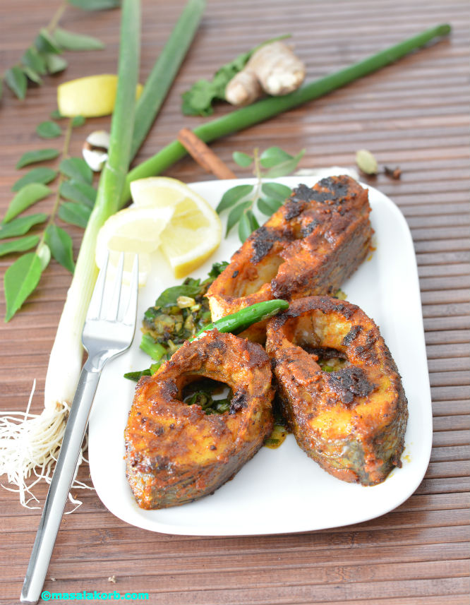 Spicy South Indian style Fish fryV3