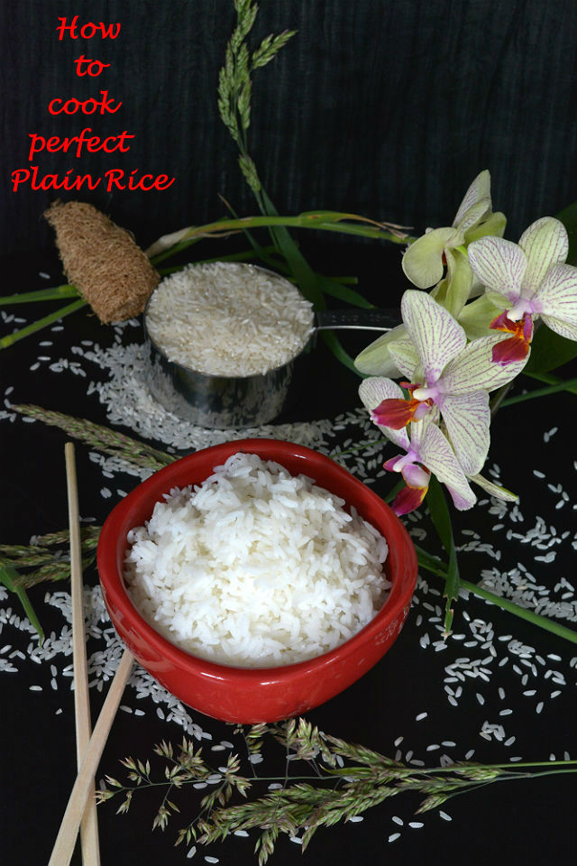 Plain rice V1 How to Cook Perfect Plain Rice