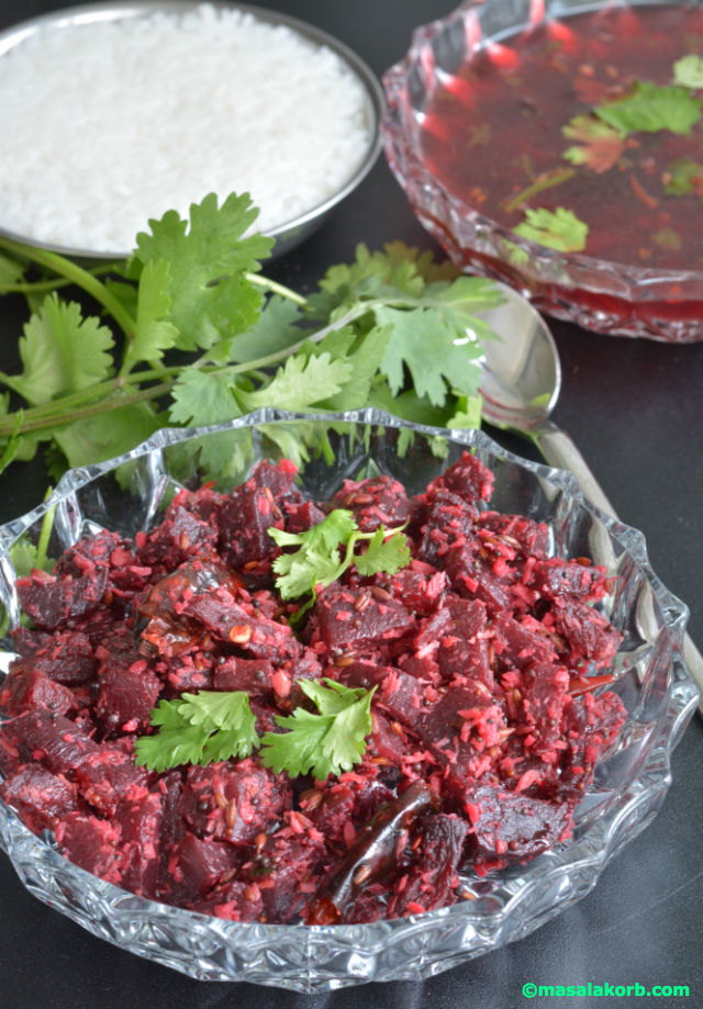 Beetroot Stir Fry V5 Beetroot Stir Fry Or Beetroot Poriyal