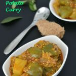 Green Eggplant Potato Curry