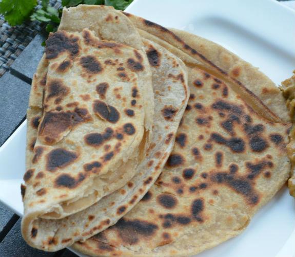 Plain paratha Punjabi cuisine