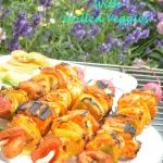 Tandoori Paneer Tikka With Grilled Veggies