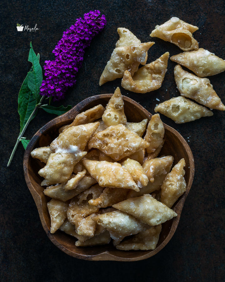 How to make Shakarpara, Sweet Shankarpali or Sweet Diamond Cuts