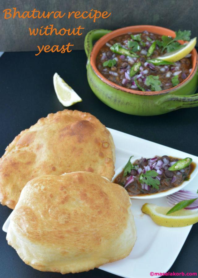 Bhatura recipe without yeast