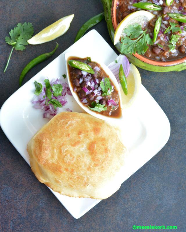 Bhatura recipe without yeast V5