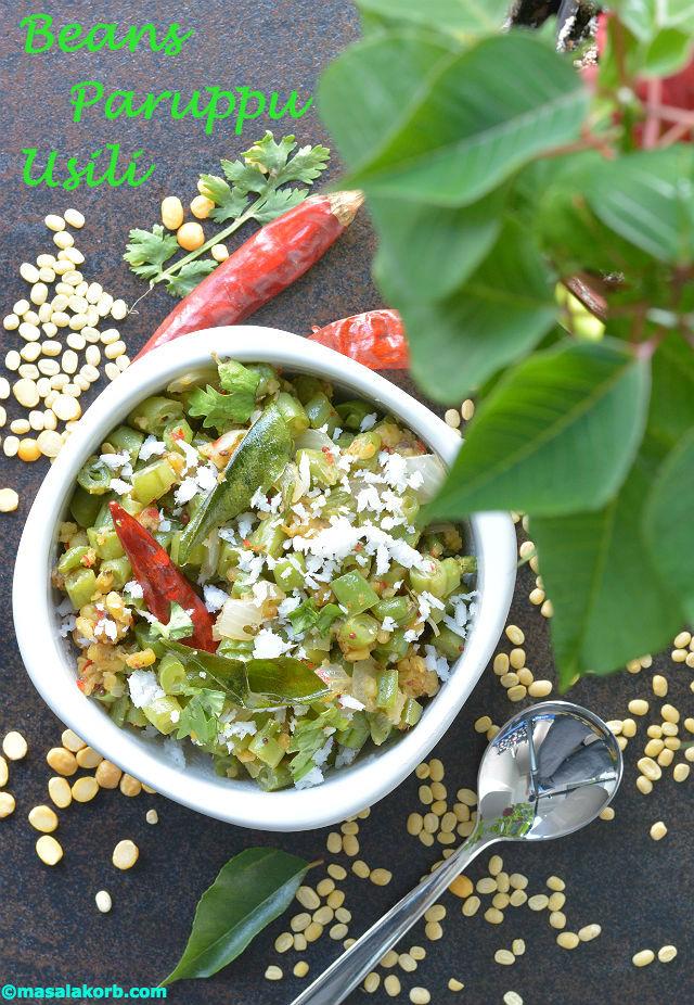 Beans Paruppu Usili V1