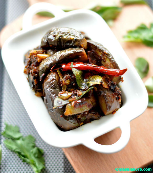 Brinjal Fry Andhra Style V2