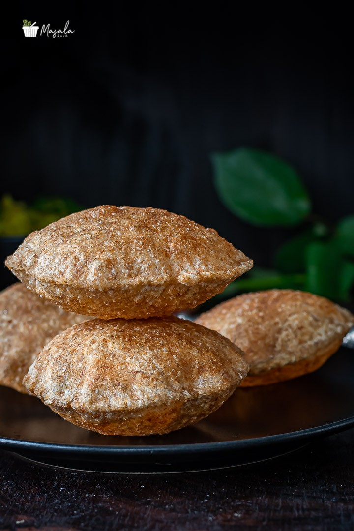 Plate of puris