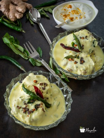 South Indian Dahi Vada - Perugu Vada