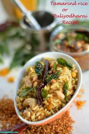 Tamarin rice / Pulihora