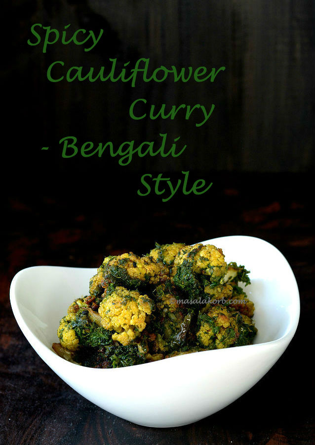 Spicy Cauliflower Curry V1n