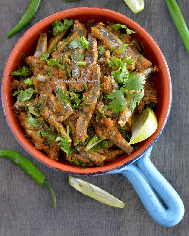 Nethili Fish Curry