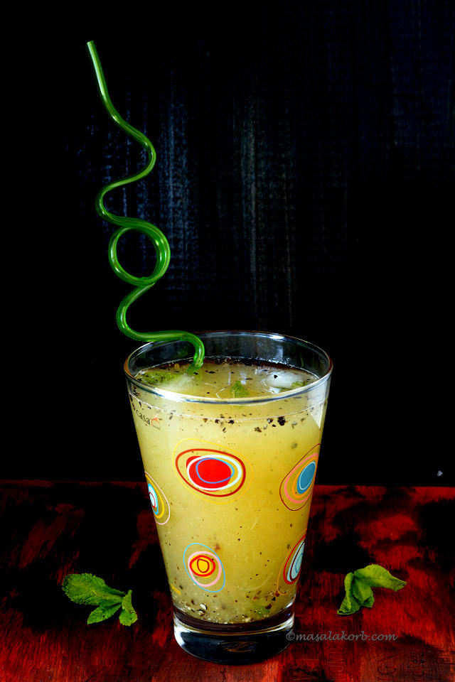 Aam ka Panna Recipe or Raw mango drink