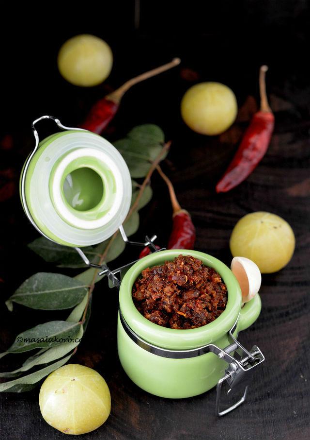 Usiri Karam Podi or Amla Spice Powder