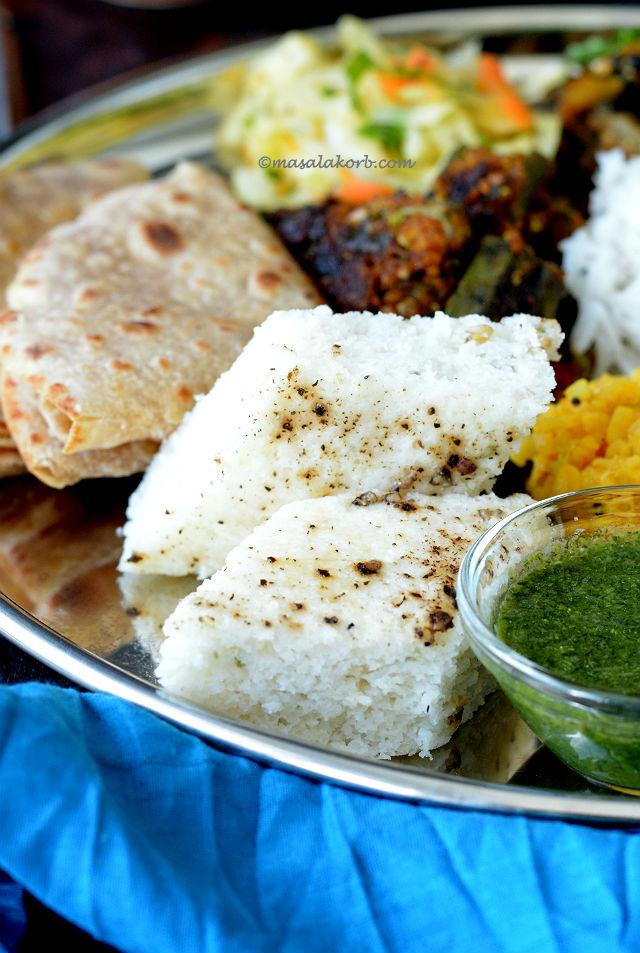 Khatta dhokla or White dhokla