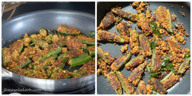 Bhindi Sambhariya Recipe (Stuffed Okra Fry)