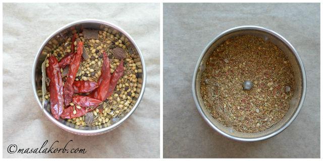Homemade Pav Bhaji Masala Powder Recipe