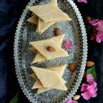 Easy Badam Burfi Recipe | Almond Katli Recipe | How to make Badam Burfi at home | Almond Fudge Recipe | Badam Ki barfi