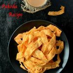 Easy Ribbon Pakoda Recipe | How to make Ribbon Murukku | Nada Pakoda Recipe | Ribbon Pakodi | Besan and Rice Flour Murukku Recipe