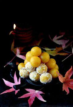 Pumpkin Coconut laddu , How to make Besan Laddoo with pumpkin
