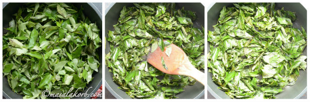 Karivepaku Karam Podi Recipe or Curry Leaves Chutney Powder Recipe