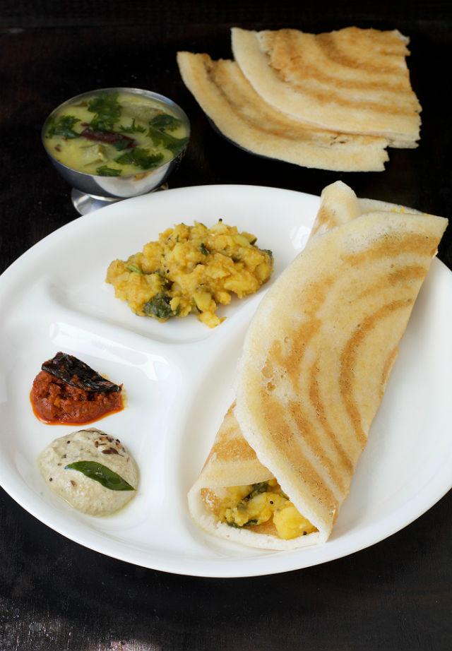 Masala Dosa RecipeSouth Indian Style