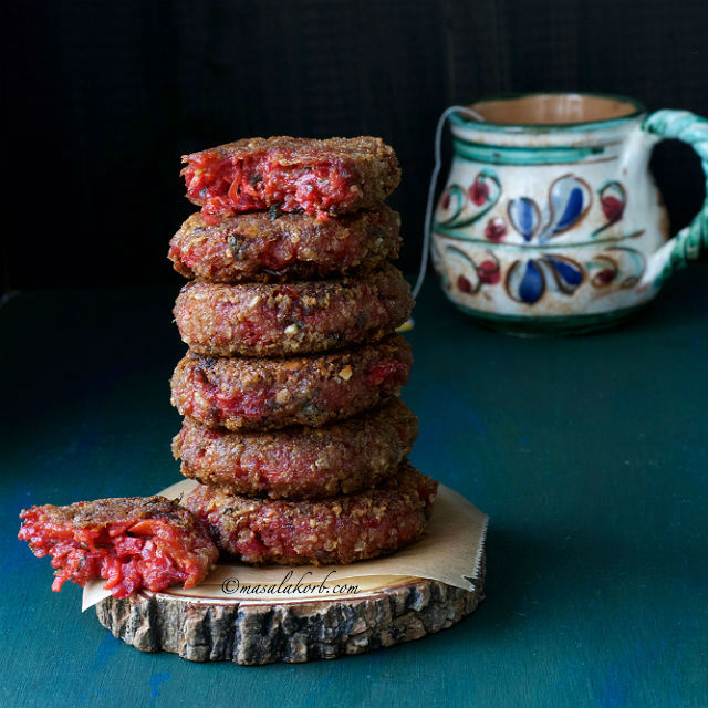 How to make Beetroot Cutlet Beetroot Patties Recipe
