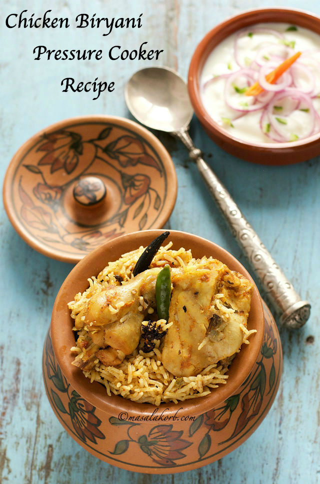 Chicken biryani pressure cooker recipe south indian masalakorb chicken biryani pressure cooker recipe south indian forumfinder Image collections